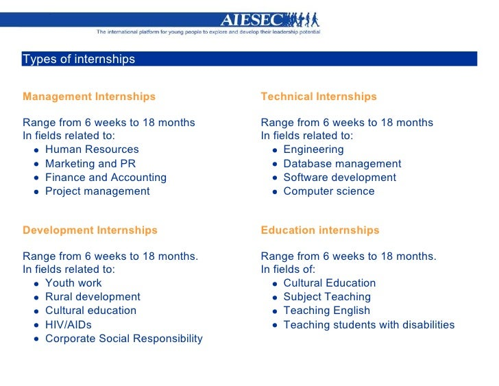 How to access Global Talents ? AIESEC Global Internship Program