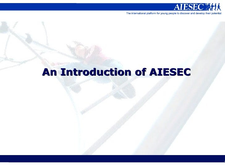 An Introduction of AIESEC