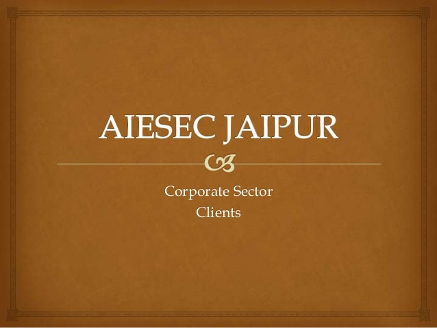 Corporate Sector    Clients