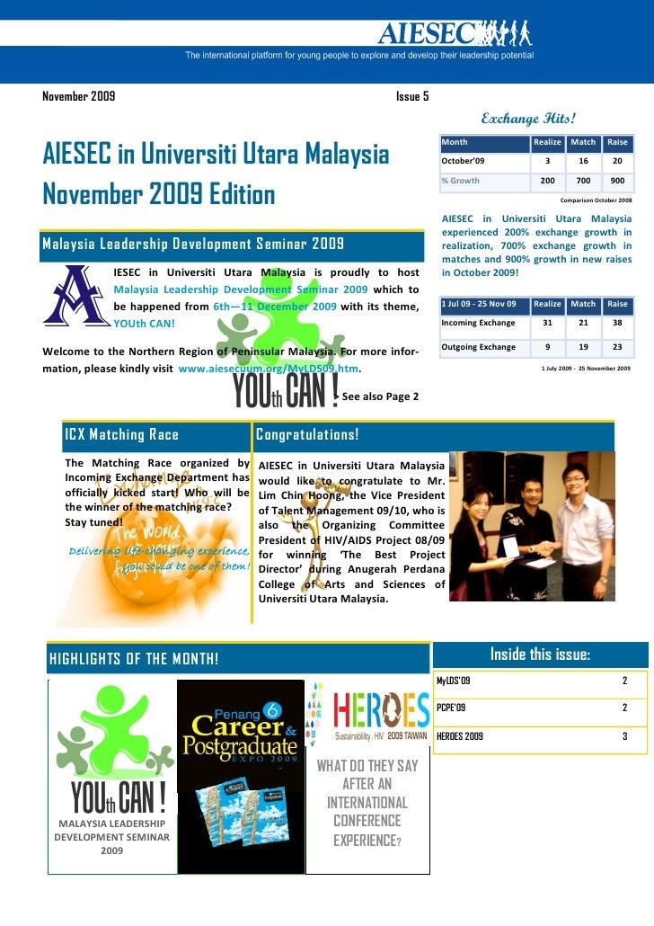 November 2009                                                      Issue 5                                                ...