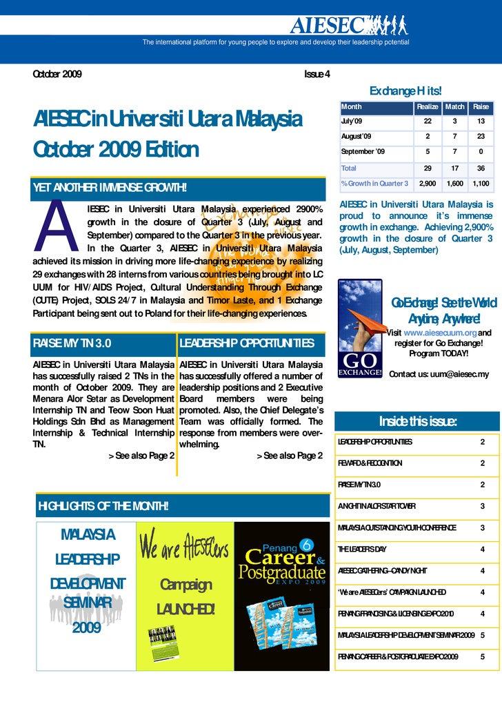 October 2009                                                             Issue 4                                          ...