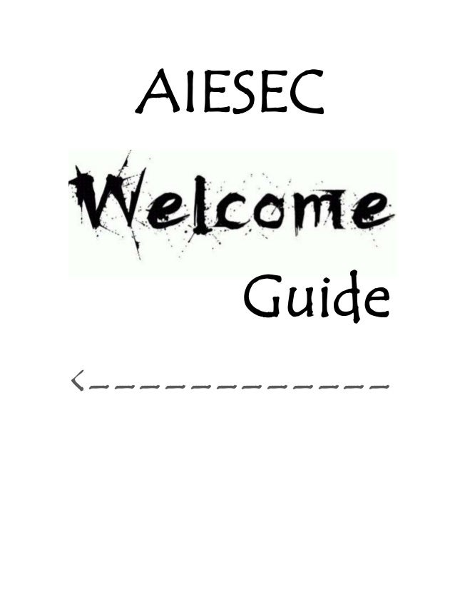 AIESEC Guide <------------