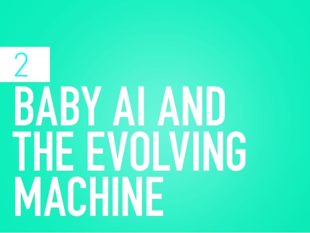 We're at the early stages of building the next generation of humans, present in the biomimicry of the robots we construct,...