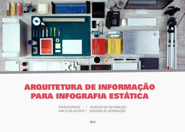 ARQUITETURA DE INFORMAÇÃO PARA INFOGRAFIA ESTÁTICA PATRICIA PRADO | DESIGNER DE INFORMAÇÃO ANA ELISA ALTHOFF | DESIGNER DE...