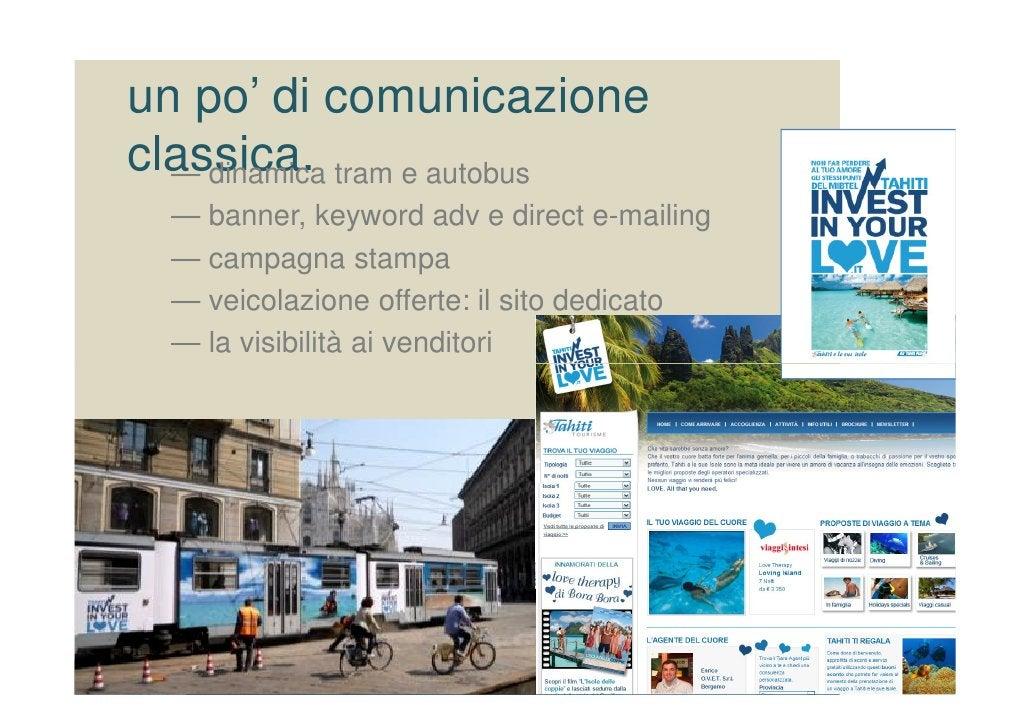 un po' di comunicazione classica. tram e autobus   — dinamica   — banner, keyword adv e direct e-mailing   — campagna stam...