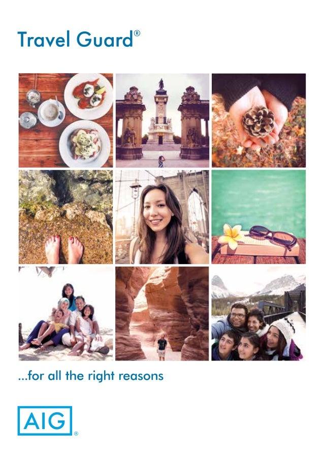Aig Travel Insurance Brochure