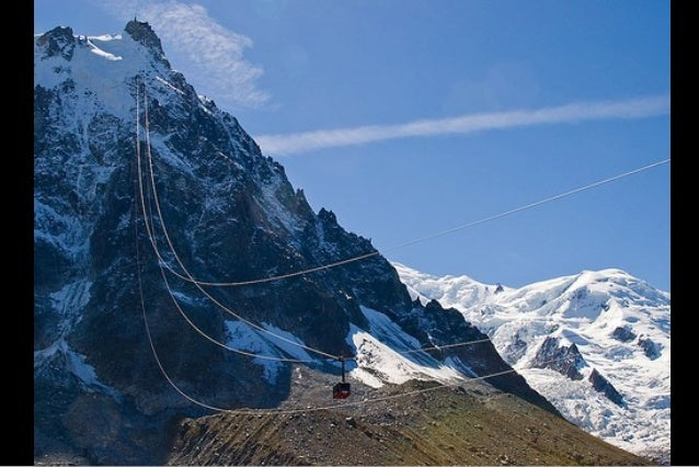 The Vallée Blanche ski run begins here, and thenearby Cosmiques Refuge is the starting point for oneof the routes to the M...