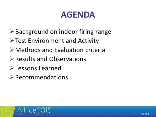 Aih ce 2015 ppt   pbz monitoing and wipe sampling for lead Slide 2