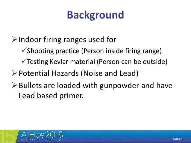 Aih ce 2015 ppt   pbz monitoing and wipe sampling for lead Slide 3