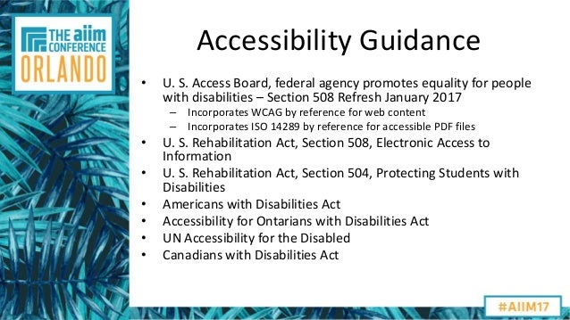 Aiim17 Just How Accessible Is Your Information Vencer