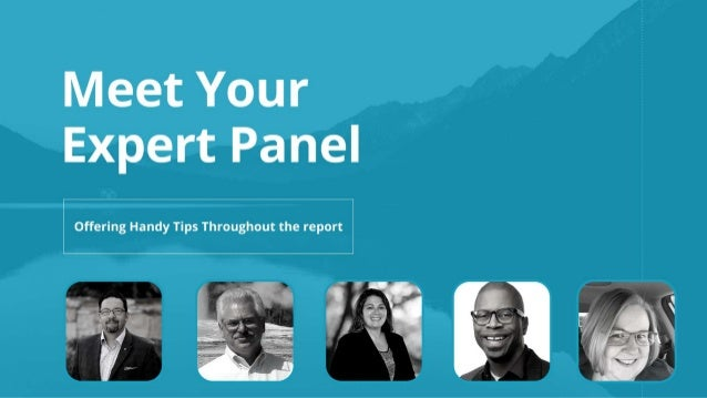 Meet the Expert Panel - 2021 State of the Intelligent Information Management Industry