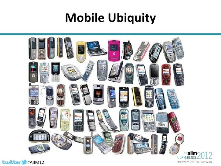 AIIM conference 2012  Slide 2
