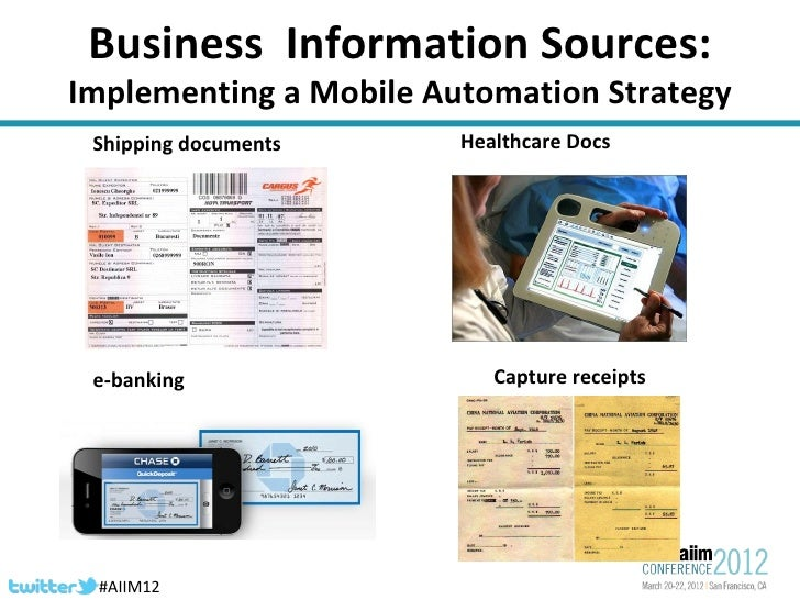 AIIM conference 2012  Slide 3