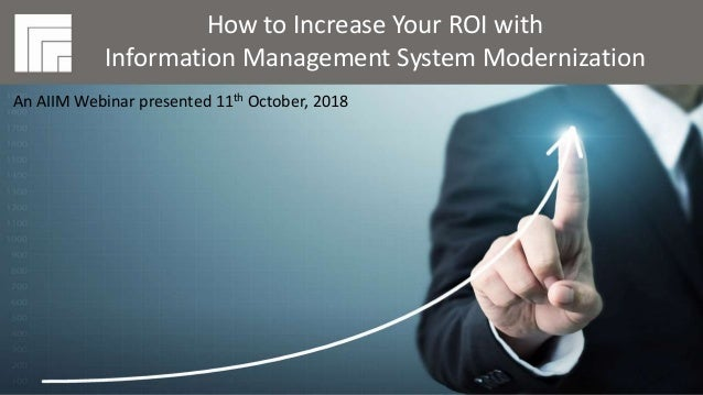 Underwritten by: Presented by: #AIIMYour Digital Transformation Begins with Intelligent Information Management How to Incr...