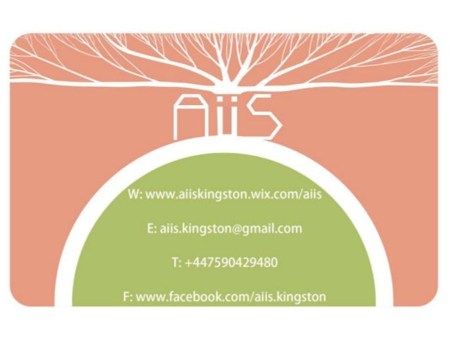 3 problems AiiS is a part of Young Enterprise. Kingston University