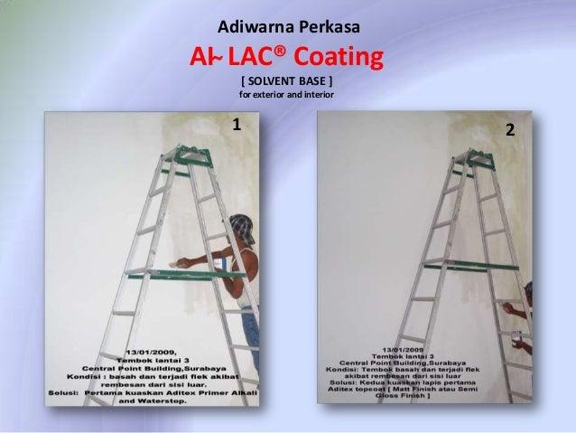 Adiwarna Perkasa  AI ̴ LAC® Coating [ SOLVENT BASE ] for exterior and interior  1  2