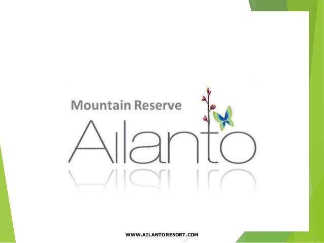  Proyecto Residencial y Turístico en Fortuna de Bagaces 1 WWW.AILANTORESORT.COM