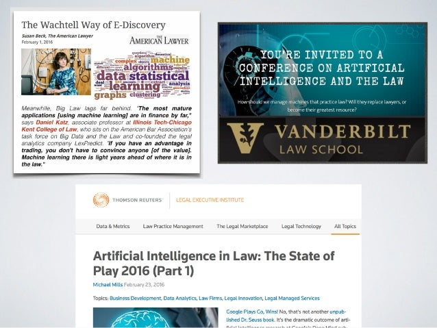 artificial intelligence and law pdf