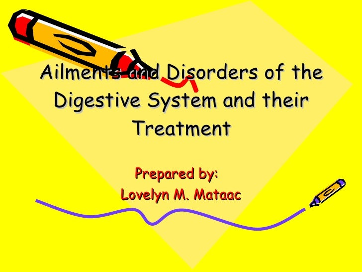 Digestive system disorder case studies