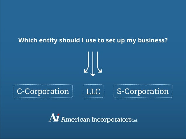 ccorp scorp Incorporation (c corp, s corp) to have your certificate of incorporation (and s corp election) filed, simply fill out the form on the right once filed by the.