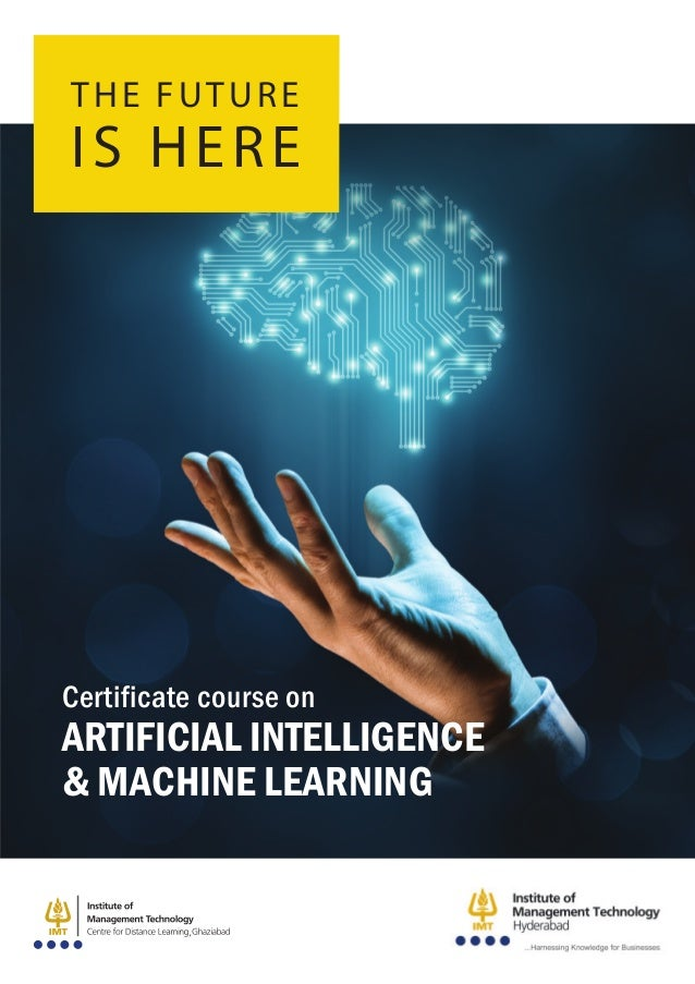 Certificate course on Artificial Intelligence & Machine