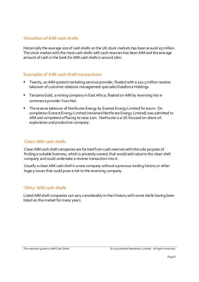 AIM Cash Shells Guide