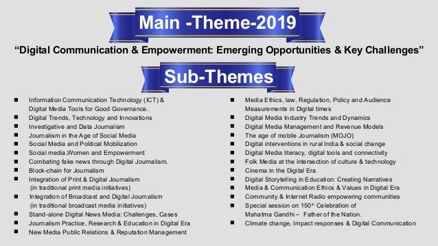 4th All India Media Conference-2019 (International) Slide 3
