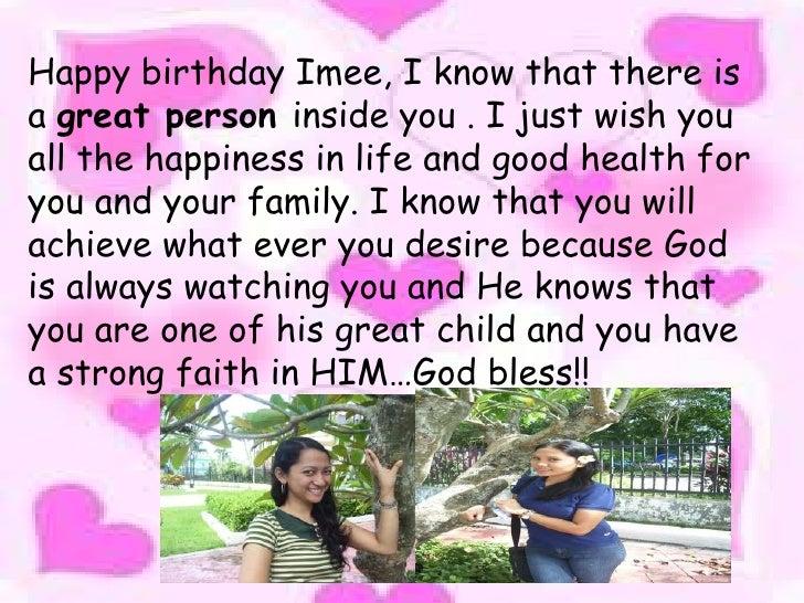Aimee valenzuela 18ths birthday br 34 happy birthday m4hsunfo