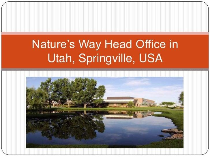 Nature S Way Springville Utah