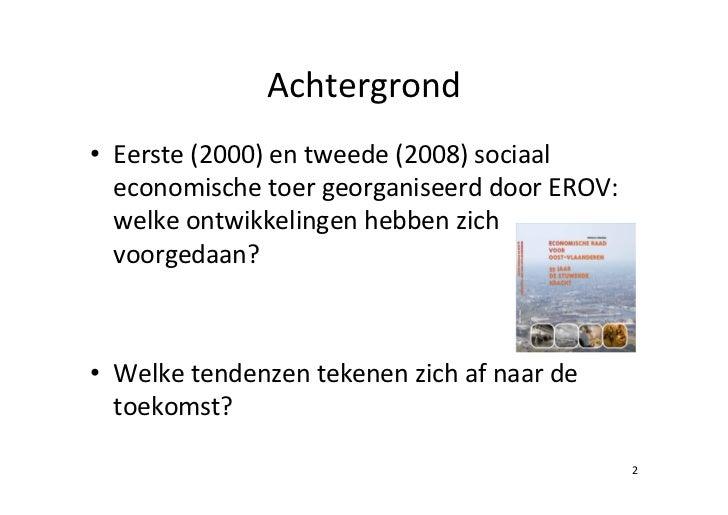 Ontwikkelingen van en in de socialprofitsector Slide 2