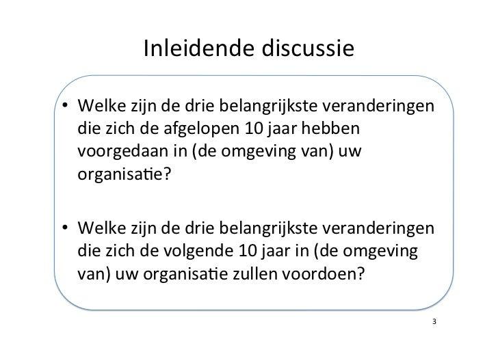 Ontwikkelingen van en in de socialprofitsector Slide 3