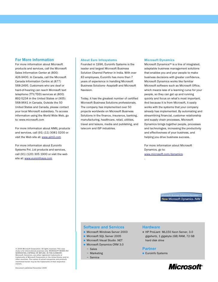 microsoft case studies qi limited Nav and navision and sage 50 case studies with qi limited, accredited sage  and microsoft business partner based in leighton buzzard, bedfordshire.