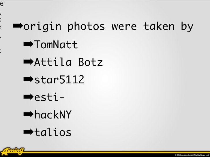 16 1 / 2 9   ➡origin photos were taken by / 1 2      ➡TomNatt      ➡Attila Botz      ➡star5112      ➡esti-      ➡hackNY   ...