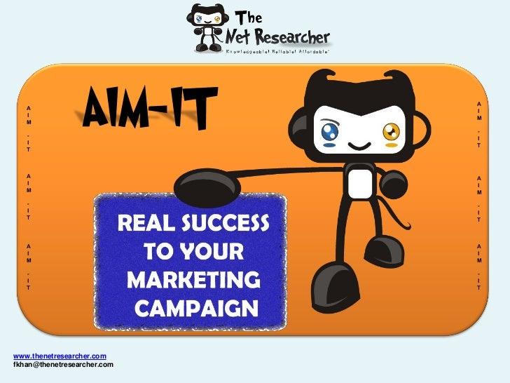 A   I   M   -   I   T                 AIM-IT      A                             I                             M           ...
