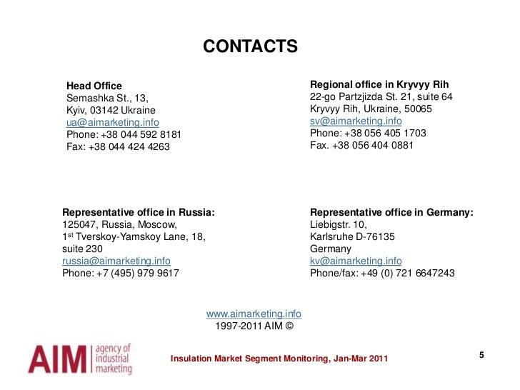 5<br />CONTACTS<br />Regional office in KryvyyRih<br />22-go Partzjizda St. 21, suite 64<br />KryvyyRih, Ukraine, 50065<br...