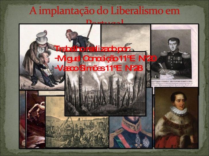 <ul><li>Trabalho realizado por: </li></ul><ul><li>Miguel Conceição 11ºE  Nº20 </li></ul><ul><li>Vasco Simões 11ºE  Nº28 </...