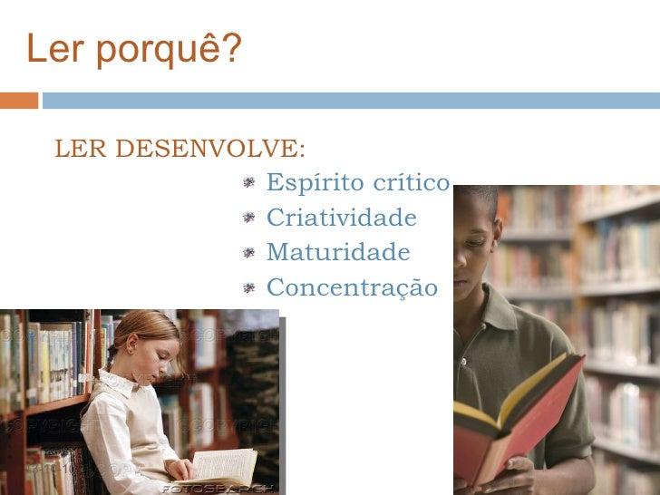 A importância da leitura Slide 2