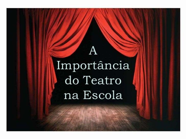 Armario De Quarto Feito De Caixote ~ A import u00e2ncia do teatro na escola