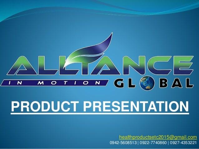 healthproductsetc2015@gmail.com 0942-5608513 | 0922-7740860 | 0927-4353221 PRODUCT PRESENTATION