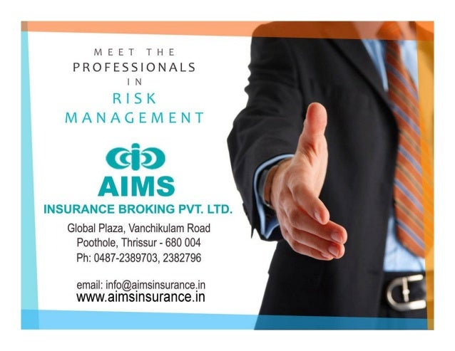 About UsAbout Us  AIMS is one of the leading insurance broking firms in India recognized for its reliability, stability, ...