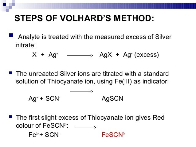 mohr method Mohr's method for the determination of silver and halogens in other than neutral solutions howard waters doughty j am chem soc , 1924 , 46 (12), pp 2707–2709.