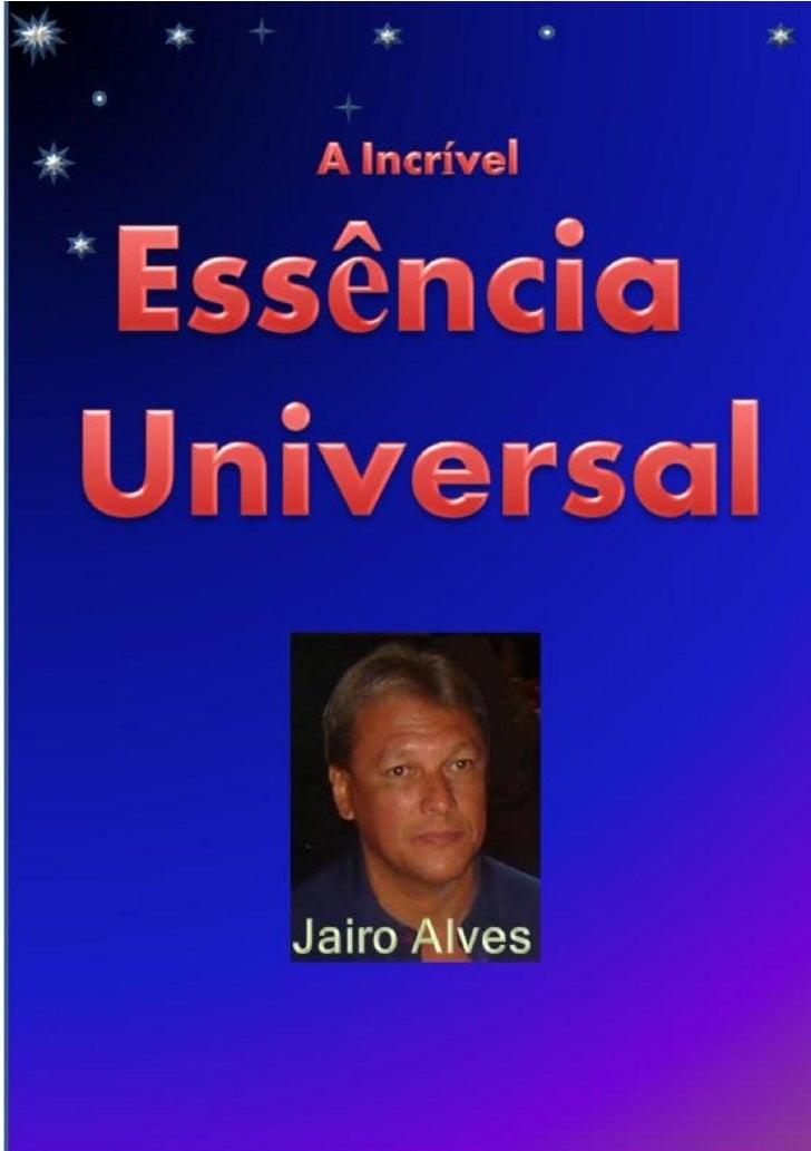Jairo AlvesSumário1   Introdução................................................32   Evidências Existenciais.................