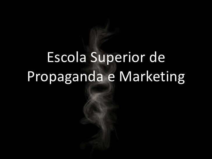 Escola Superior de Propaganda e Marketing<br />