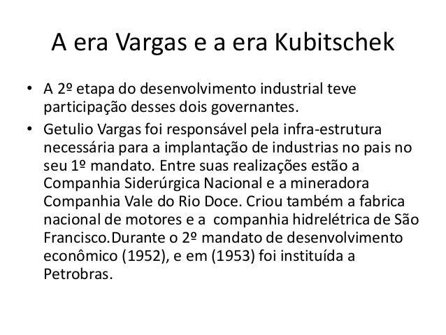 A Indústria no Brasil Slide 2