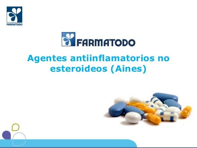 Agentes antiinflamatorios no esteroideos (Aines)