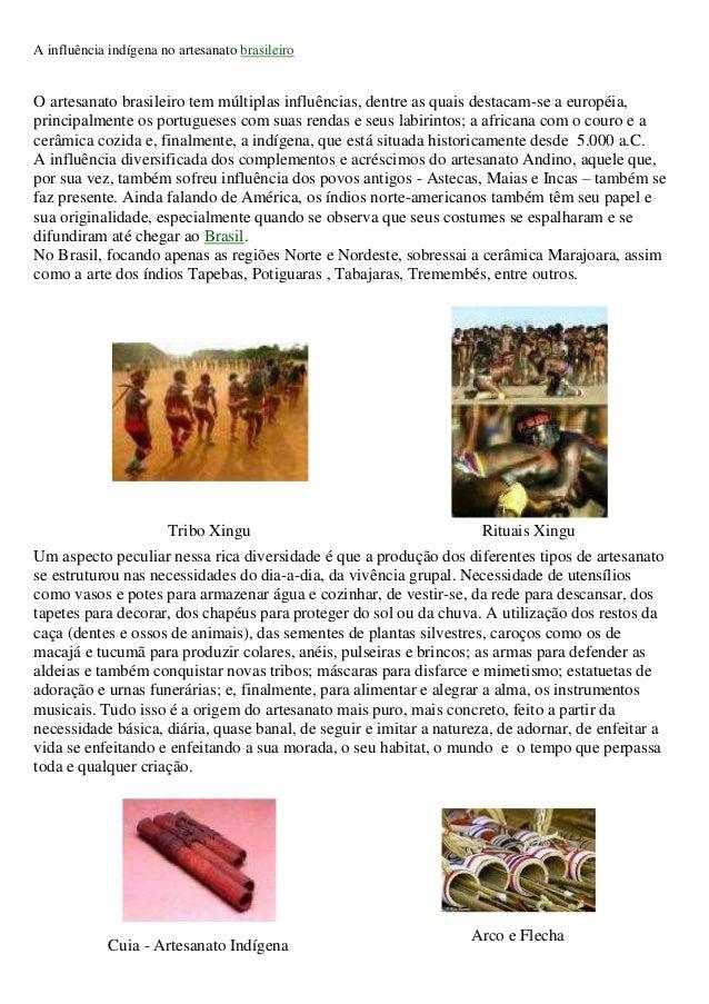 Armario Nancy Carrefour ~ A influ u00eancia indígena no artesanato brasileiro gabi