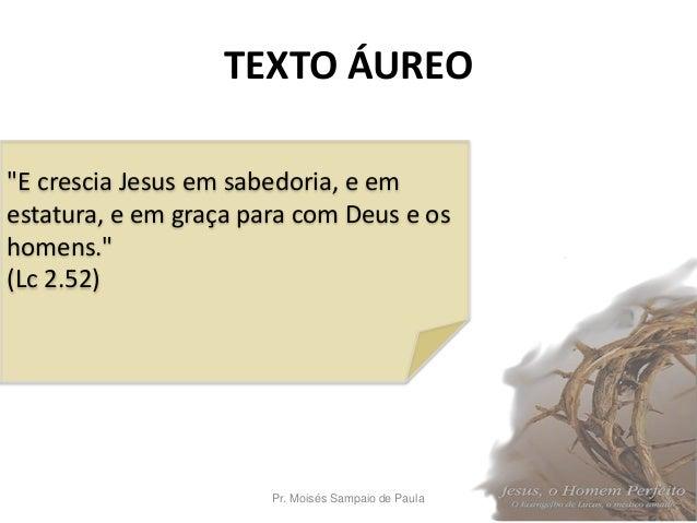 A infância de Jesus Slide 2