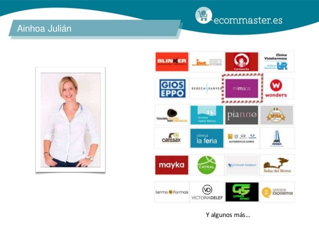III Congreso Ecommaster - Medical Ecommerce (Ainhoa Julián) Slide 2