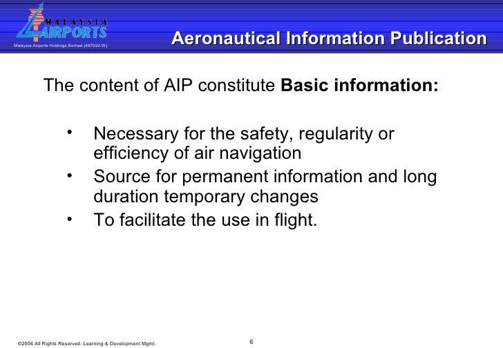 Aip Operations Basic Training 020904
