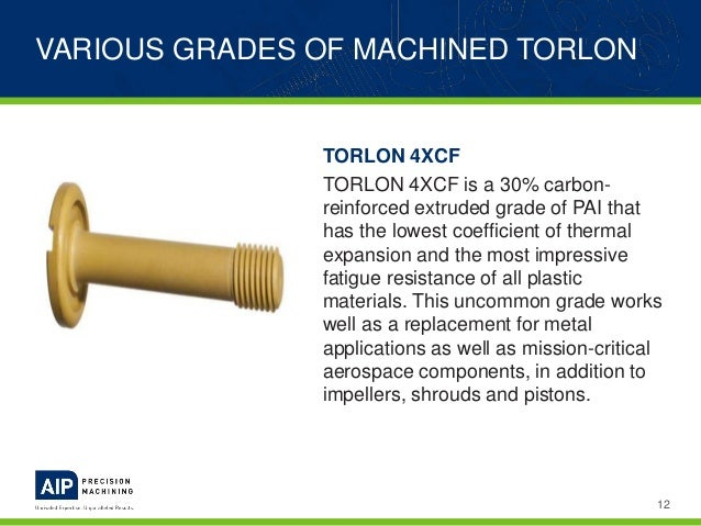 Machining Torlon - A Plastics Machining Guide